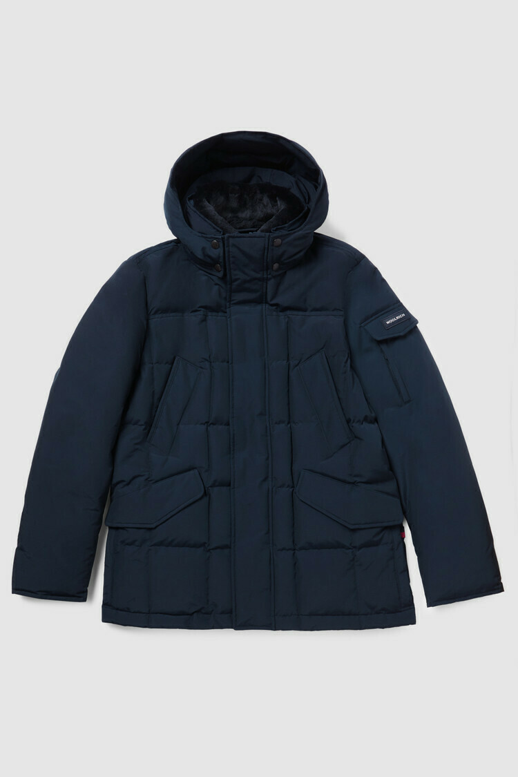 Woolrich | Blizzard Field Jacket | Melton Blue