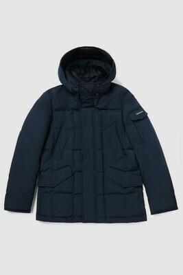 Woolrich | Blizzard Field Jacket | Melton Blue