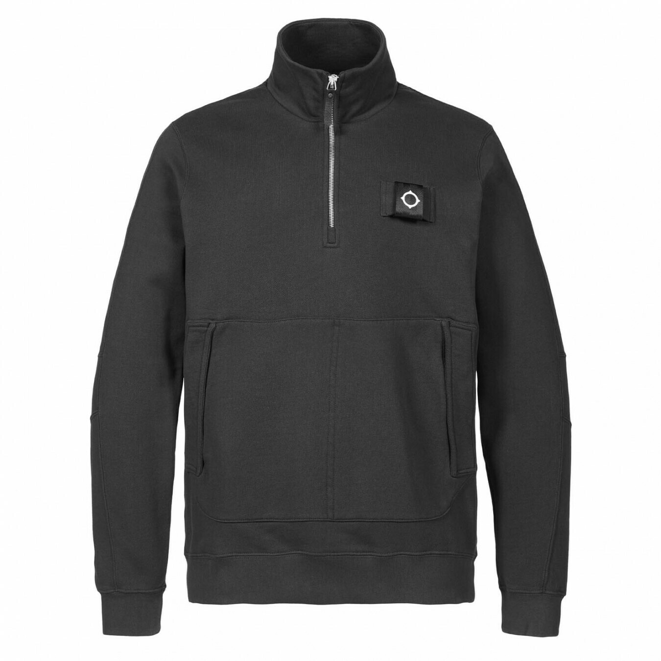 Mastrum | training quarter zip | jet black