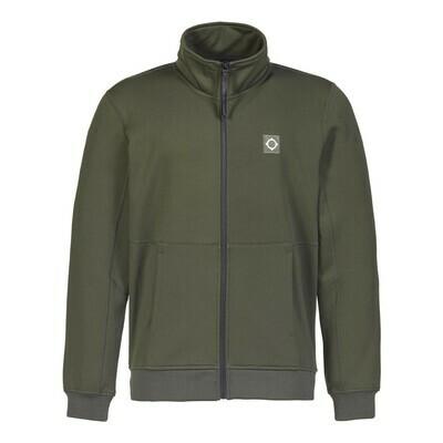 Mastrum | tech fleece track jacket | oil slick