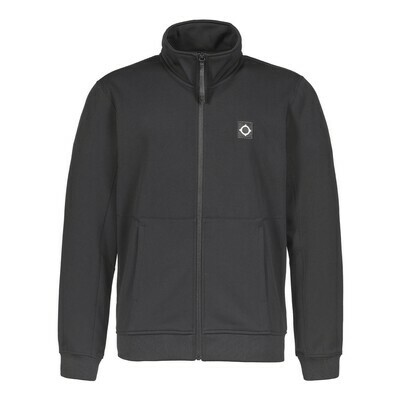 Mastrum | tech fleece track jacket | jet black