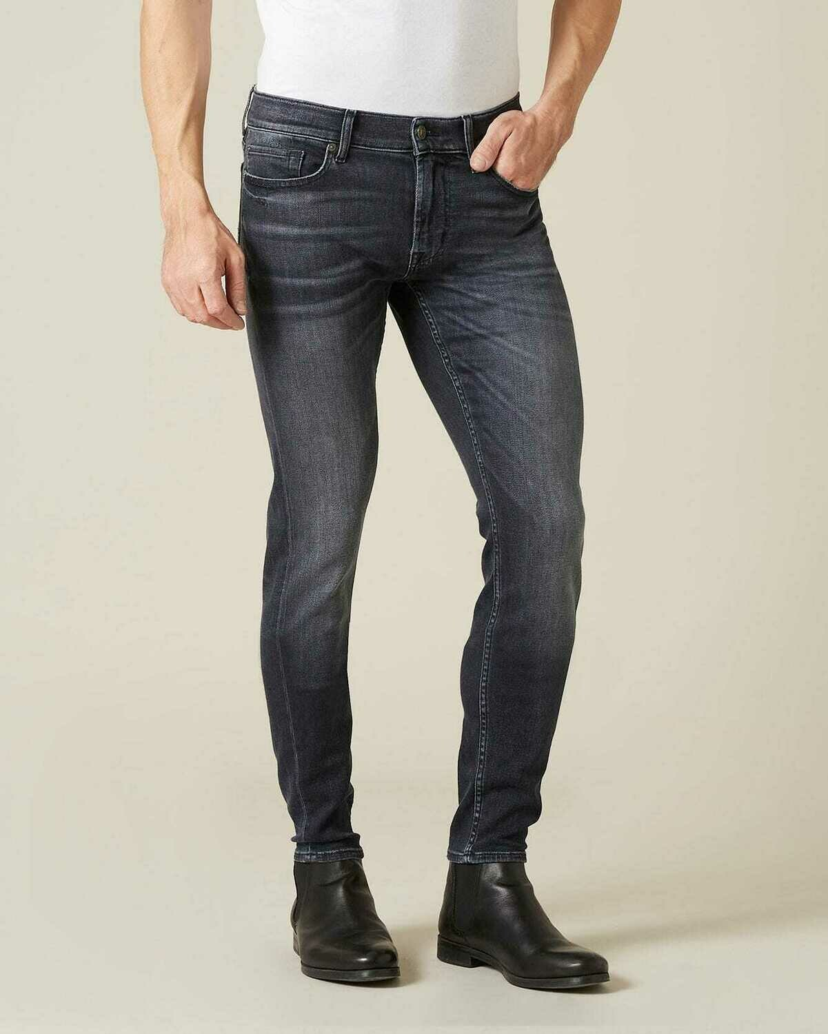 Seven | ronnie tapered stretch tek | ace grey