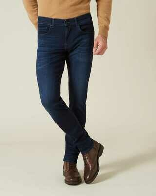 Seven   slimmy tapered luxe performance plus   deep blue