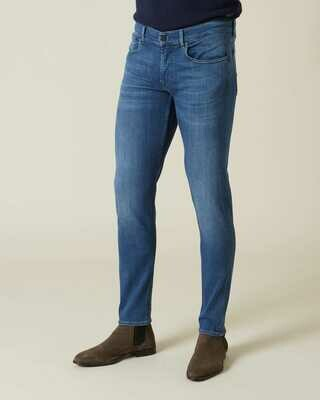 Seven   slimmy tapered luxe performance plus   mid blue