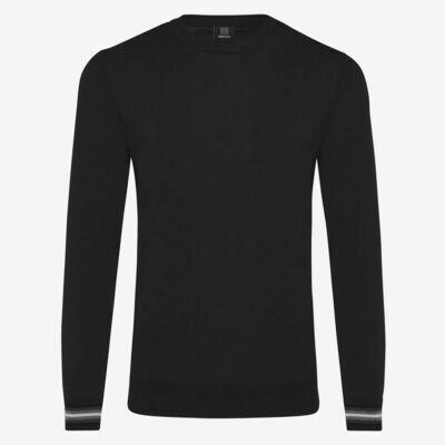 Genti | cool dry trui | zwart