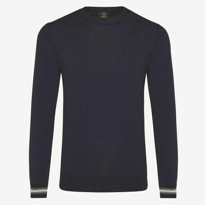 Genti | cool dry trui | donkerblauw