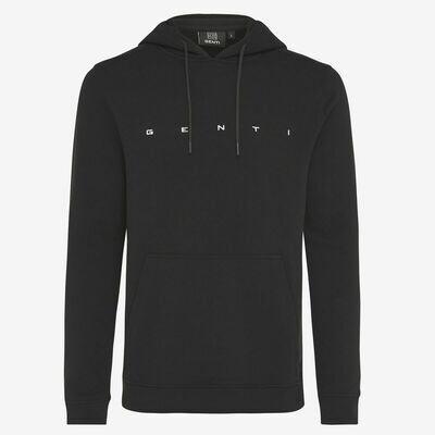 Genti | hoody | black