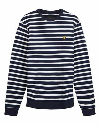 Lyle & scott | sweatshirt met | bretonse streep