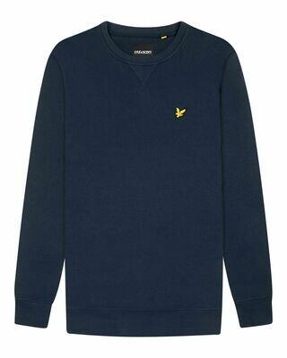 Lyle & scott | sweatshirt met ronde hals | Blauw
