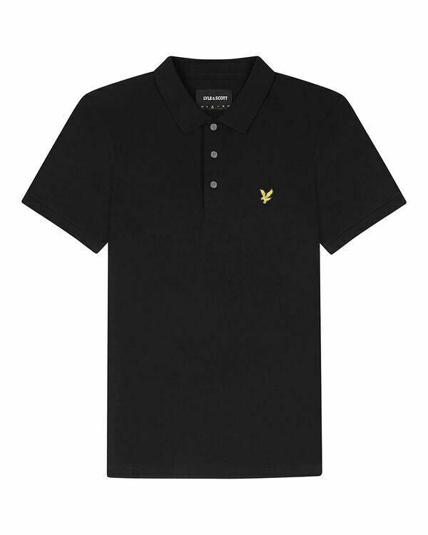 Lyle & Scott | Stretch Polo Shirt | Jet Black