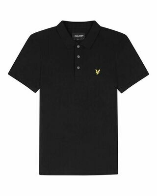 Lyle & Scott | Stretch Polo Shirt | Jet Black
