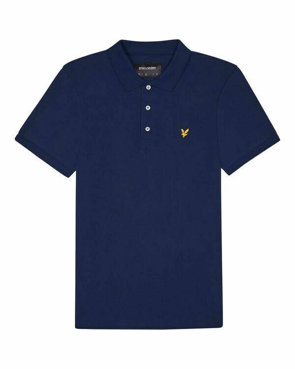 Lyle & Scott | Stretch Polo Shirt | Navy