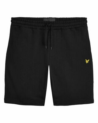 Lyle & Scott | Sweat Short | Jet Black