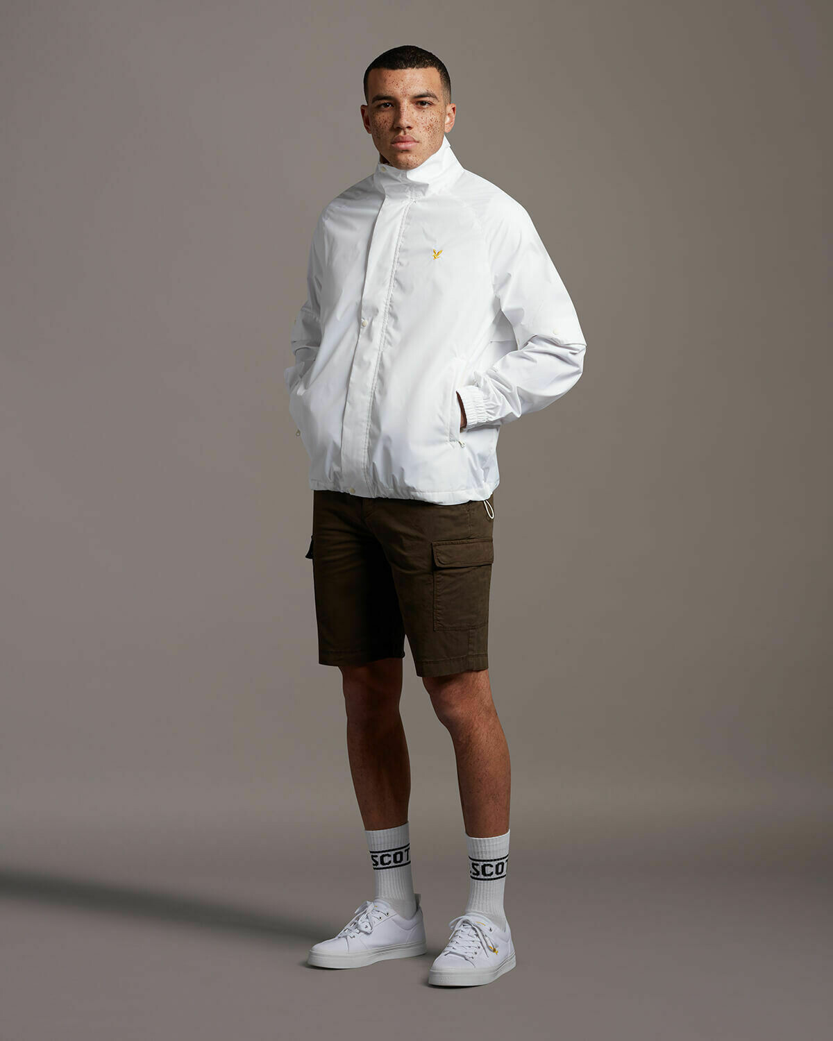 Lyle & Scott | Cargo Shorts | Trek Green