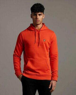 Lyle & Scott | Pullover Hoodie | Burnt Orange