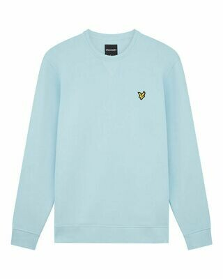 Lyle & Scott | Crew Neck Sweatshirt | Deck Blue