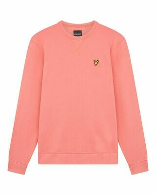 Lyle & Scott | Crew Neck Sweatshirt | Punch Pink