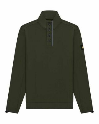 Lyle & Scott | Button Sweater | Trek Green