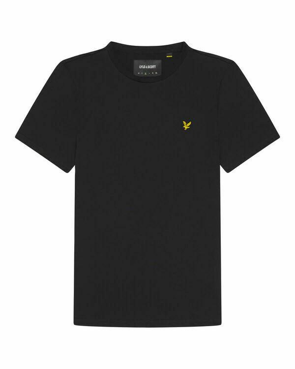 Lyle & Scott | Crew Neck T-shirt | Jet Black