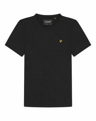 Lyle & Scott | Crew Neck T-shirt | Jet Black
