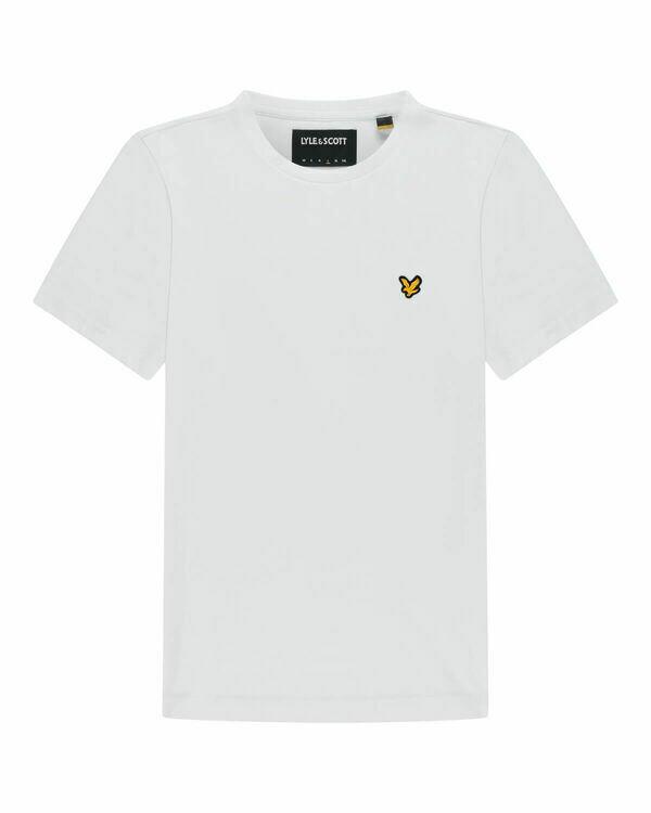 Lyle & Scott | Plain T-Shirt | White