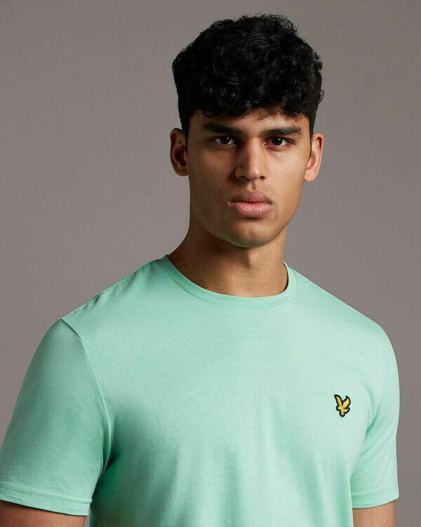 Lyle & Scott | Plain T-Shirt | Sea Mint