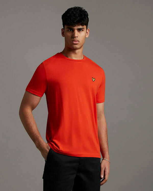 Lyle & Scott | Plain T-Shirt | Burnt Orange