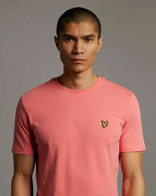 Lyle & Scott | Plain T-Shirt | Punch Pink