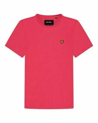 Lyle & Scott | Plain T-Shirt | Geranium Pink