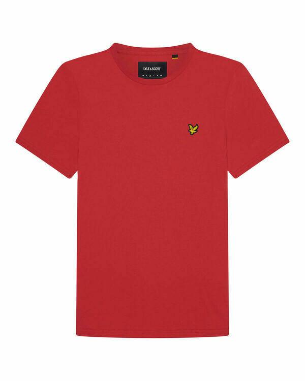 Lyle & Scott   Crew Neck T-Shirt   Gala Red