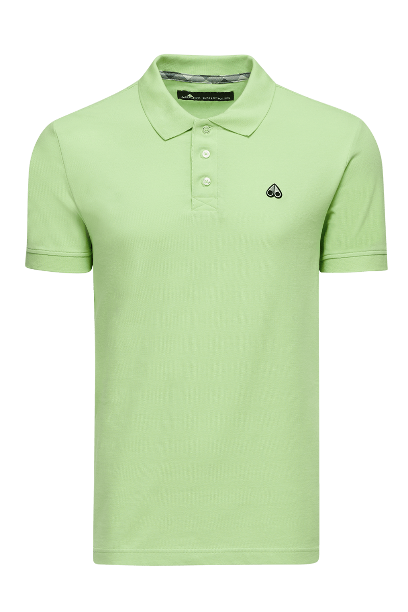 Moose Knuckles   Polo Shirt   Lime