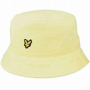 Lyle & Scott | Bucket Hat | Lemon