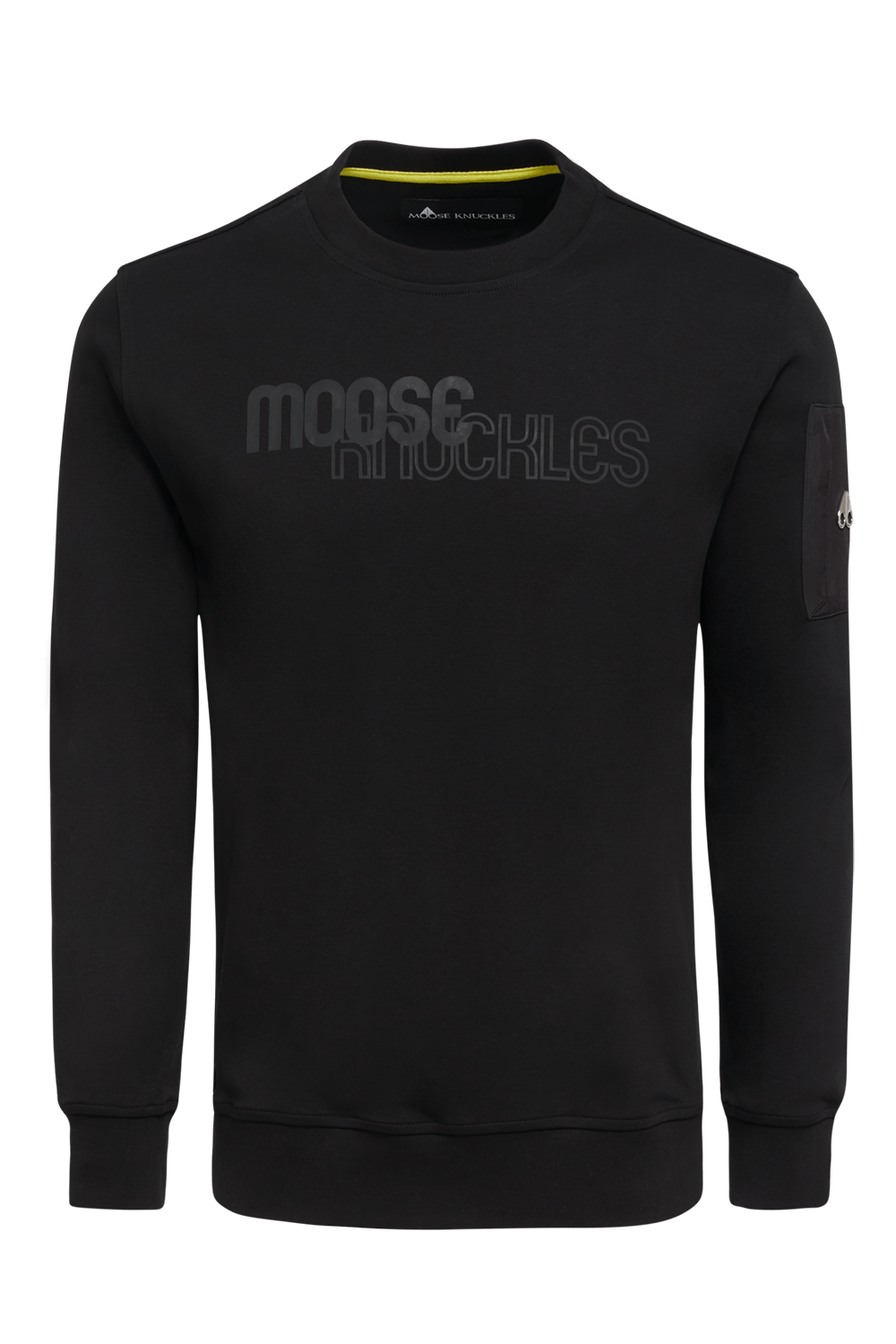 Moose Knuckles | Transit Pullover | Black