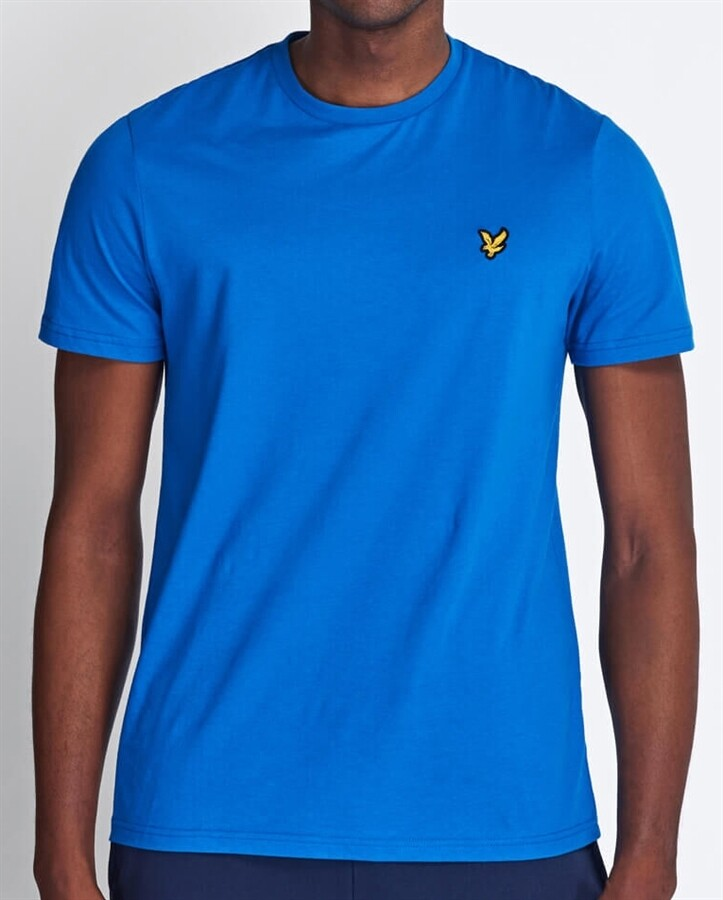 Lyle & Scott | Crew Neck T-Shirt | Bright Cobalt