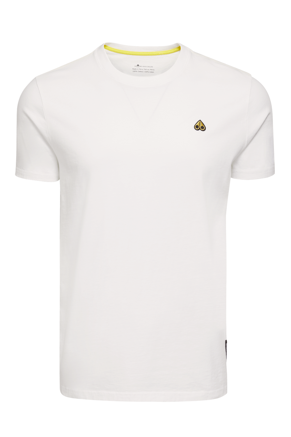 Moose Knuckles | Classic Logo Tee | White