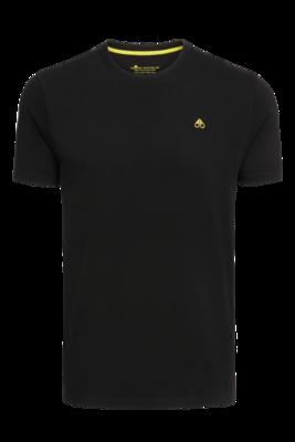 Moose Knuckles | Classic Logo Tee | Black
