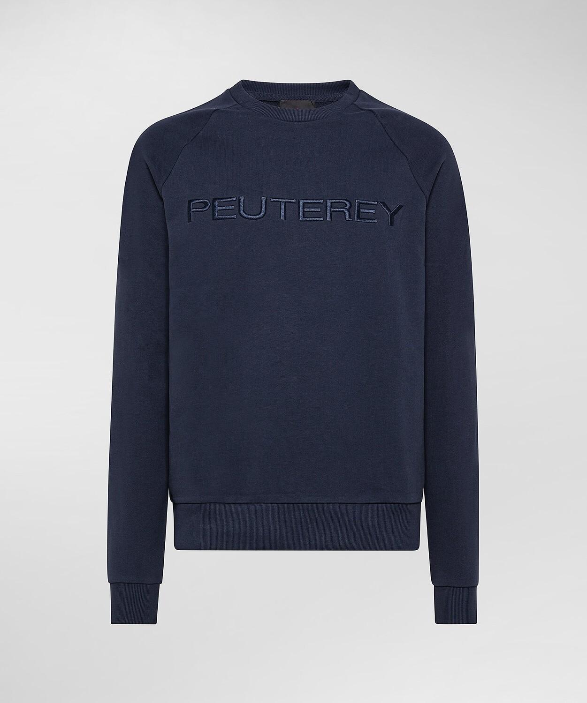 Peutery | sweatshirt GUARARA | Graphite Blue