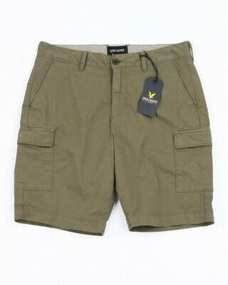Lyle & Scott | Cargo Shorts | Trek Green