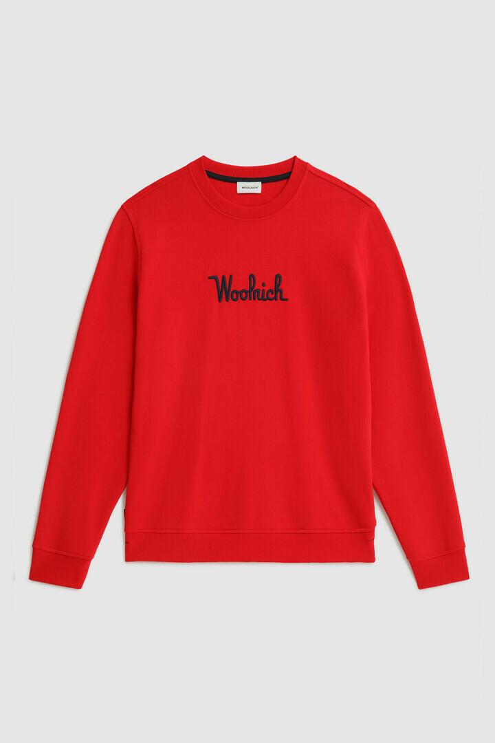 Woolrich | Sweatshirt | Marine Scarlet