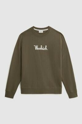 Woolrich | Sweatshirt | Army Olive
