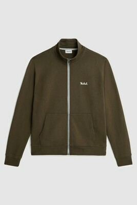 Woolrich | track sweater | Army Olive