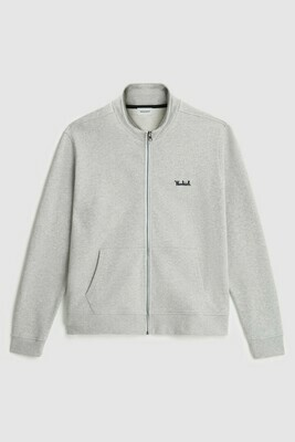Woolrich | track sweater | Light Grey Melange