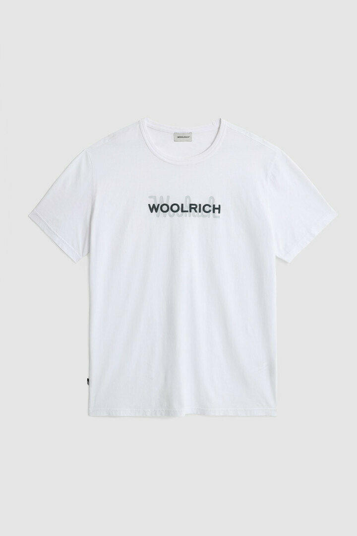 Woolrich | Shirt Macro Cotton Tee | Bright White