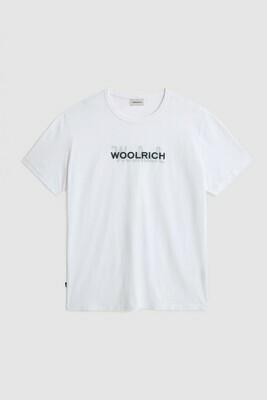 Woolrich | Shirt Macro Cotton Tee | Bright White