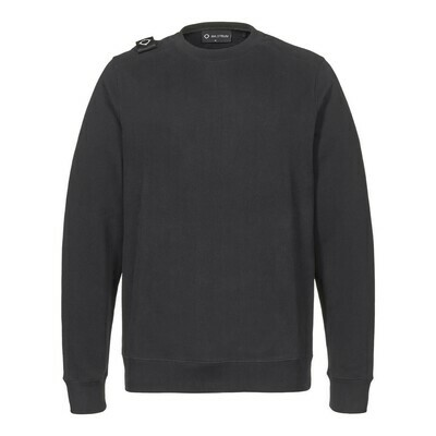 Mastrum | Sweater Core Crew | Jet Black