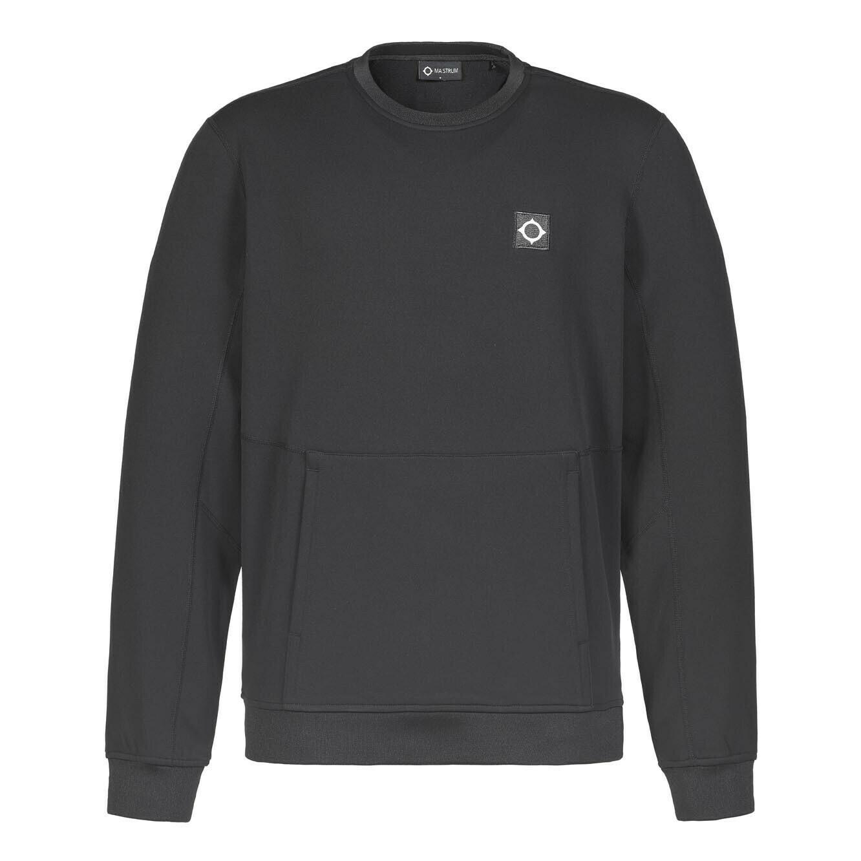 Mastrum | Tech Fleece Crew Sweater | Jet Black
