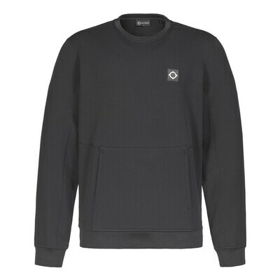 Mastrum | Tech Fleece Crew Sweater | Jet Black