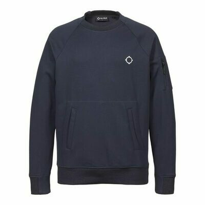 Mastrum | Tech Fleece Crew Sweater | Ink Navy