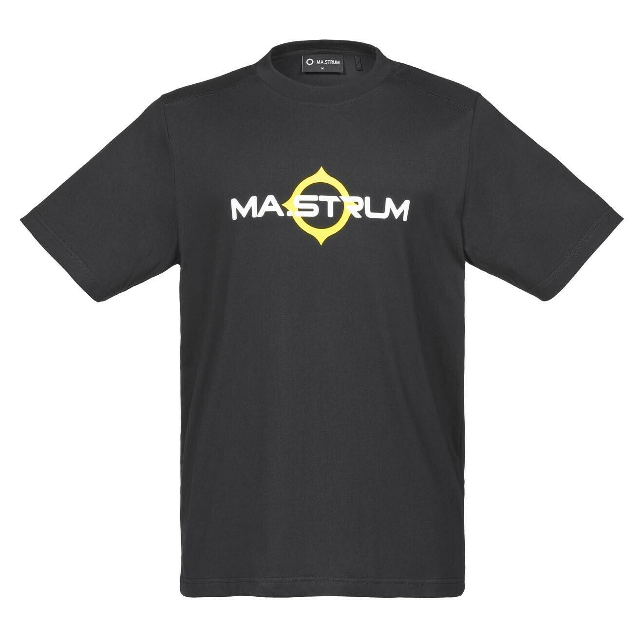 Mastrum | SS LOGO PRINT TEE | Jet Black