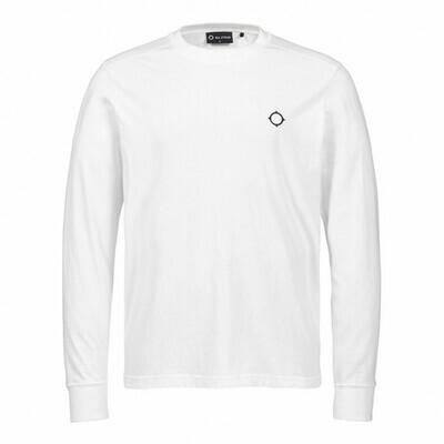 Mastrum | Ls Icon Tee | Optic White